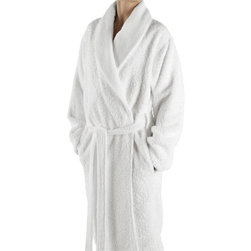 Elite Dressing Gown Egyptian Cotton Graccioza Long Double Loop White 3407229 20003 Price 221 Buy In Kiev Ukraine