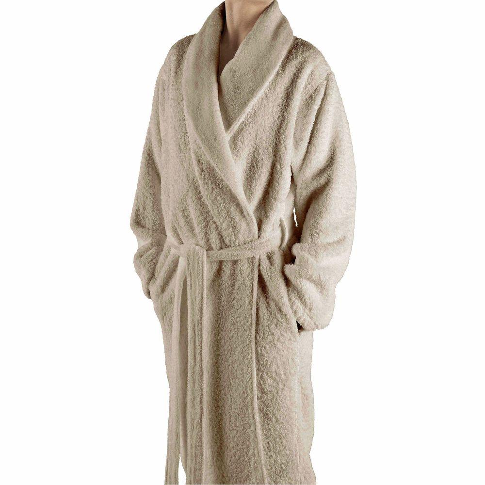 Elite Dressing Gown Egyptian Cotton Graccioza Long Double Loop Ekru 3407229 20002 Price 221 Buy In Kiev Ukraine