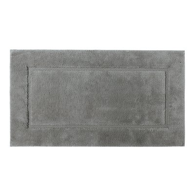 Buy Graccioza Egoist White Bath Mat Anthracite