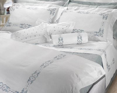 Buy Bed linen Vera Linens Panama Egyptian cotton
